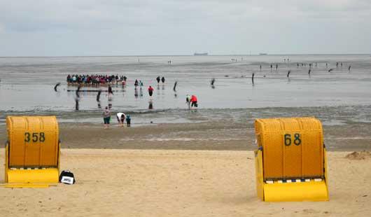 Wattenmeer bei Cuxhaven