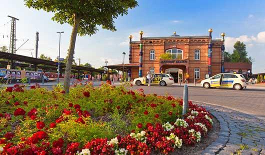 Ausflugsziel Hundertwasser-Bahnhof in Uelzen  - c Oliver Huchthausen