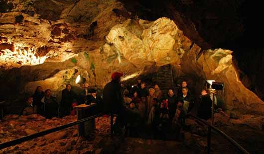 Ausflug in die Iberger Tropfsteinhöhle in Bad Grund