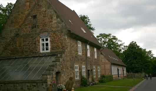 Kloster Loccum mit mittelalterlichen Gebäuden