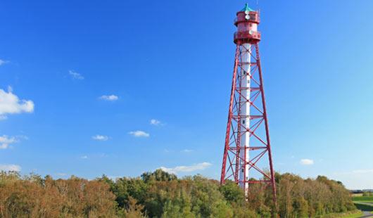 Leuchtturm Campen - höchster Leuchtturm in Niedersachsen