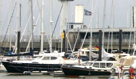 Segelyachten in Cuxhaven