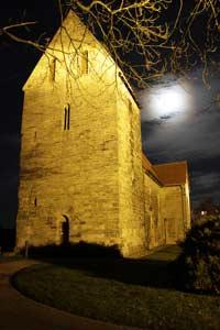 Beleuchtete Sigwardskirche