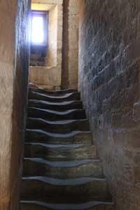 Aufstieg zum Turm in der Sigwardskirche