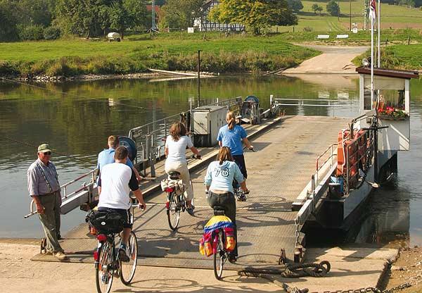 Familienurlaub am Weser-Radweg