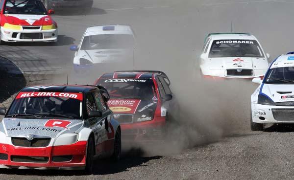 4.Lauf zur deutschen Rallycrossmeisterschaft auf dem Buxtehuder Estering