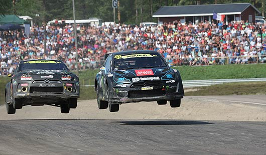 Saisonfinale 2013 im Rallycross auf dem Estering Buxtehude