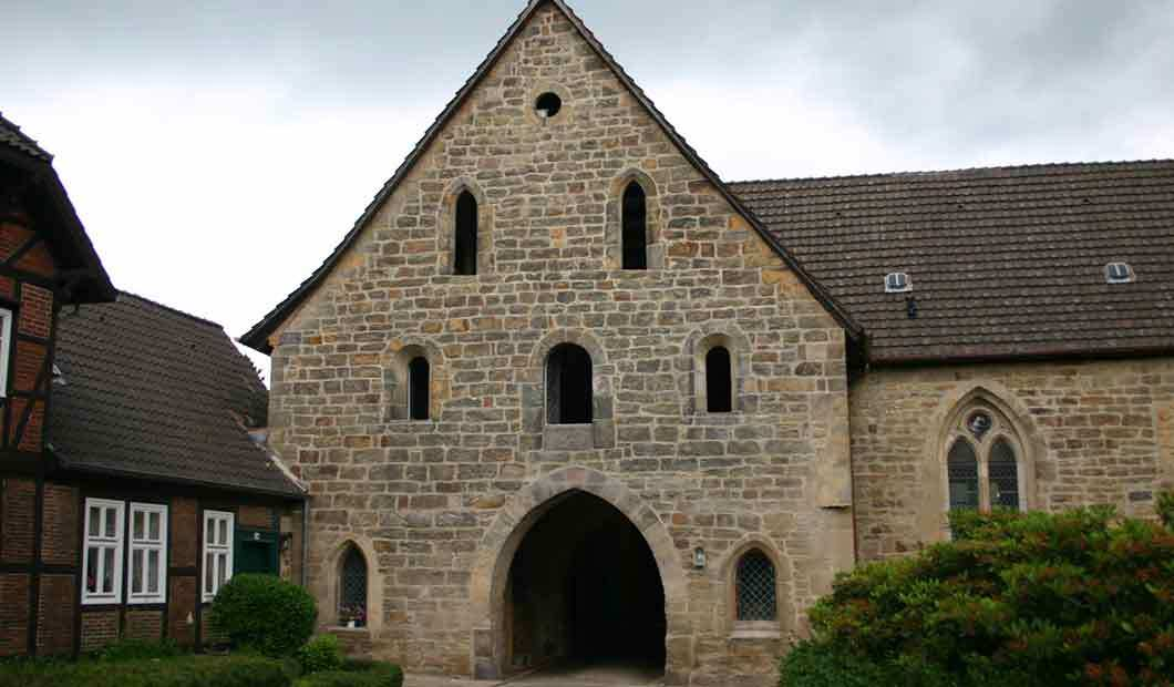 Kloster Loccum: Klosterdurchgang