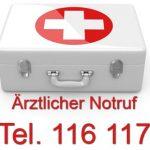 Sonderrufnummer 116 117 - ärztlicher Bereitschaftsdienst