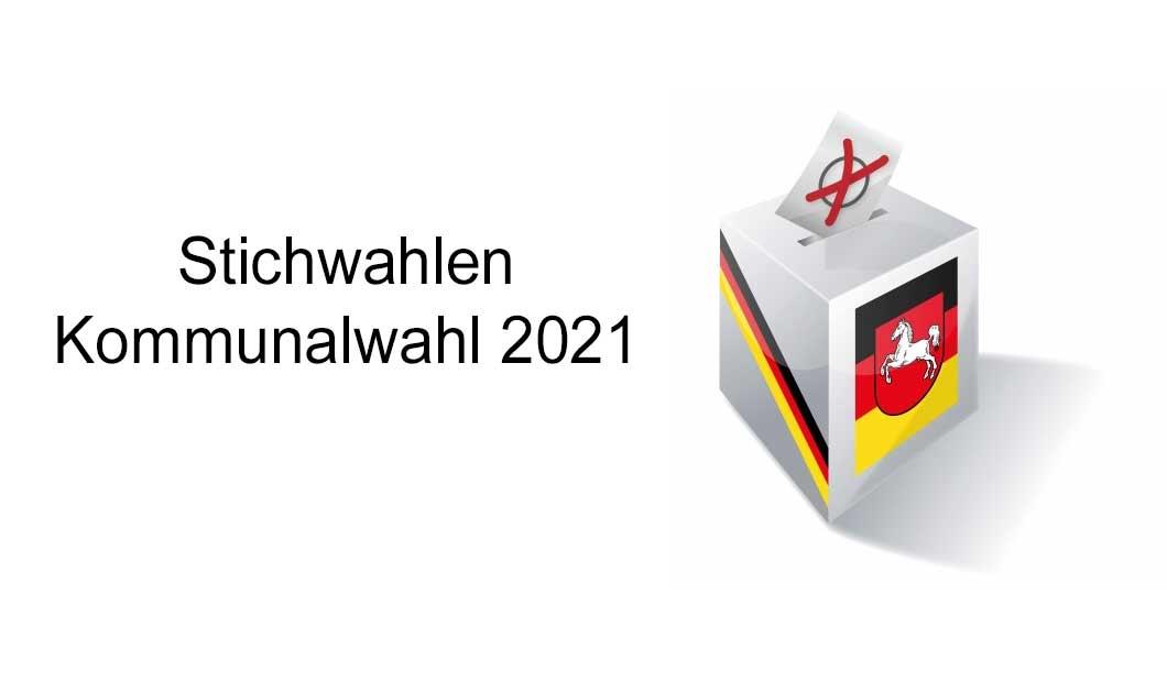 Kommunalwahl 2021 - Ergebnisse der Stichwahlen