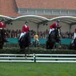 Celler Hengstparade 2014 - Springreiten