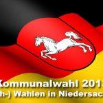 Niedersachsen: Ergebnisse der Kommunalwahl 2013 vom 22.09.2013