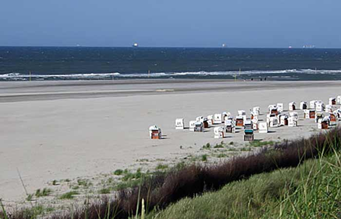 Nordsee - Urlaub in Niedersachsen