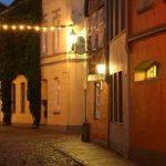 Schöne alte Gassen in Buxtehude