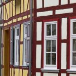 Sehenswert im Landkreis Göttingen sind die Fachwerkhäuser von Duderstadt
