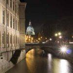 Die Leine fliesst diurch die Landeshauptstadt Hannover