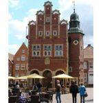 Meppen - das Rathaus ist eine zentrale Sehenswürdigkeit