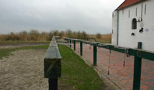 Spiekeroog - Station der Pferdebahn