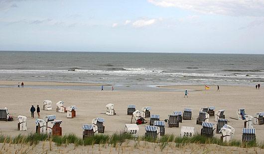 Spiekeroog - Strandkörbe
