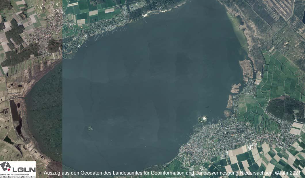 Steinhuder Meer: Luftbild