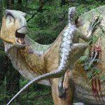Dinosaurier-Nachbildung im Dino-Park