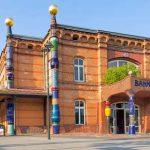 Hundertwasser-Bahnhof in Uelzen - c Oliver Huchthausen