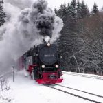 Winterurlaub im Harz - Brockenbahn