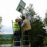 Zählstellen am Weser-Radweg werden installiert