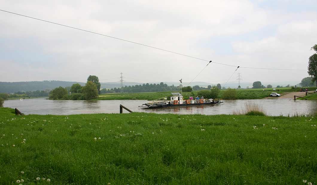 Weser: Fähre